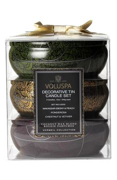 Voluspa 'Vermeil' Three-Wick Candle Trio ($60 Value) available at #Nordstrom