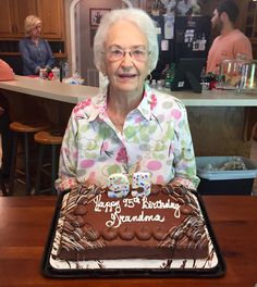 Last night Grandma passed from this world to eternity. Our hearts are heavy with grief and sadness. Before she is laid to rest I wantto share a few thoughts about her. Wilda Hyche was known as G…