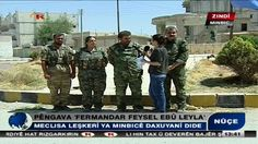 Live from #Manbij centre via RohaniTV