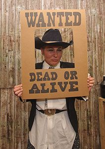 Murder at The Deadwood Saloon Decorations and ideas also how to