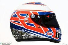 Button's 2016 helmet