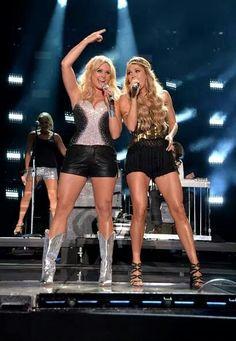 Miranda Lambert & Carrie Underwood CMA Fest 2014