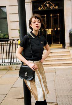 CLUEL On the street of London クラシックな町と、ポロシャツ。   フレッドペリー日本公式サイト