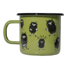 Stinky mug 3,7 dl green