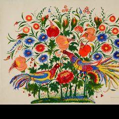 Peacoks - Tatiana Pata - Petrykivka art