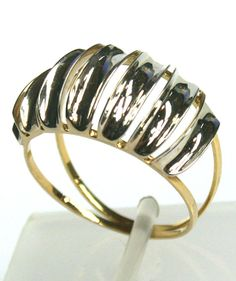 Anel em Ouro 18k ( 02 Cores ) - R$ 624,00