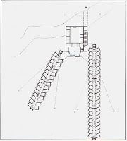 Diseño de interiores: Residencia de estudiantes en St. Andrews de James Stirling