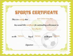 Sports certificate template for ms word download at http sports certificate template for ms word download at httpcertificatesinn yelopaper Images