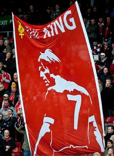 The king Kenny Dalglish and his iconic #7.