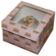 Single Cupcake Boxes | Cupcake and Baking > Cupcake & Muffin Boxes > 2 x Single Cupcake Box ...