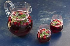 Maggie Beer's Summer Berry and Ruby Cabernet Punch