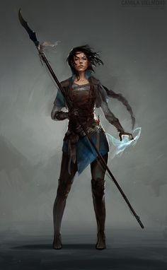 Markus' fraternal twin Elizabeth, Eldritch Knight