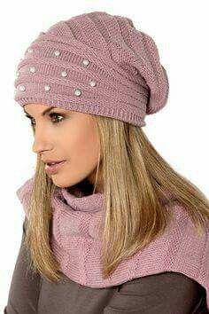 Czapki i szaliki Loman - www.e Czapki.pl - Jedyne takie Czapki w sieci! Crochet Beret, Knitted Headband, Knitted Hats, Loom Knitting, Knitting Patterns Free, Baby Knitting, Scarf Hat, Beanie Hats, Beanies