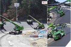 """Riker @RikerRikerowen  2015年4月24日 """"@HanaHoraizon: バンクって、こんな風に造るんだね """"  なんか かっこええ!! 日本の道路で作ってる方々に敬礼!!!"""