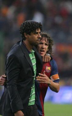 Puyol y Rijkaard