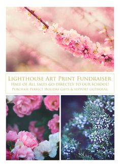 Did you know that Captivate Prints is giving back each month to a family in need, cause, or organization? Support our local Lighthouse Montessori school by purchasing your holiday gifts at the Print Shop! Half of all sales now through December 1st will directly benefit the school! Click the link to check it out! https://www.etsy.com/shop/CaptivatePrints