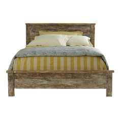 I love the look of the reclaimed wood!  Gorgeous simple frame...too bad it's $1400 on O.S. :(  http://www.overstock.com/Home-Garden/Hamshire-Queen-size-Bed/7957664/product.html?refccid=CQ777ZFNSZTYWPKISH4FXQCJBQ