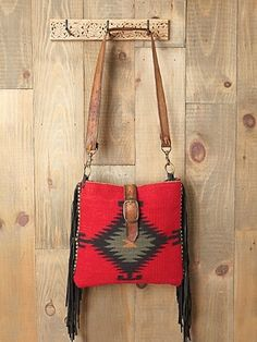 Mcfadin Palmedo Blanket Bag At Free People Clothing Boutique Stylesays Hippies Leather Buckle