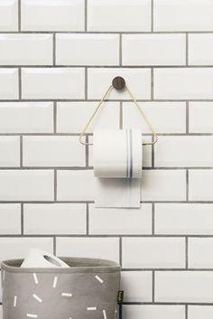 Brass Toilettenpapier-Halter