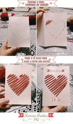 New Diy Kids Crafts Valentines Ideas Valentine Crafts For Kids, Valentines Diy, Diy Crafts For Kids, Craft Ideas, Diy Ideas, Diy Birthday, Birthday Cards, Birthday Design, Homemade Birthday Gifts