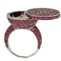 Boucheron Secrets Ring: add a message or pebble from your favorite place in the world