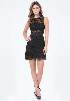 Lace Bandeau Dress