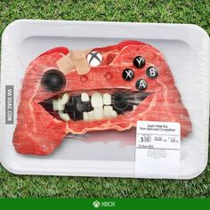 Ultra Realistic Super Meat Boy Xbox Controller