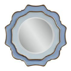 Bassett Mirror Caprice Wall Mirror - 31 diam. in. - Like fine china, the Bassett Mirror Caprice Wall Mirror - 31 diam. in. can elevate the beauty of any room. This stunning mirror is made of leather...