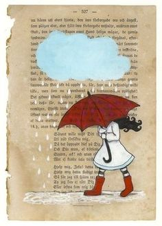art on book page... i could see you doing this :)