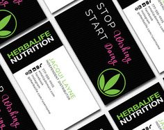11 best business card images on pinterest business cards carte de herbalife business card template by wackyjacquisdesigns on etsy flashek Images