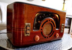 Restored Antique Vintage Zenith 6D630 Art Deco Old Tube Radio Works Perfect | eBay