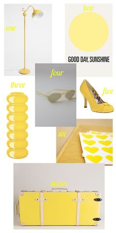 yellow inspiration