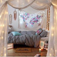 Gorgeous #bedroom decor