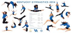 Kentucky 2014 Gymnastics Posters, Sport Gymnastics, University Of Kentucky, Sports, Movie Posters, Movies, Poster Ideas, Google Search, Kentucky University