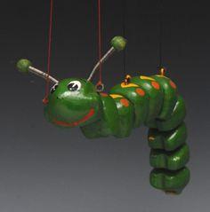 SL 63 Caterpillar - Pelham Puppets SL 63, hollow moulded he