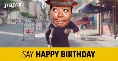 "Friend's Birthday?  Cast them in Pharrell's mega-hit ""Happy"" and wish them a very HAPPY Birthday!"