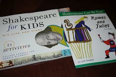 Great Shakespeare for Kids books!!