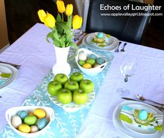 Echoes of Laughter: An Easter Table....