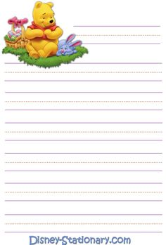 Printable Lined Paper, Free Printable Stationery, Stationery Templates, Lined Writing Paper, Writing Papers, Letter Writing, Decopage, Cute Journals, Diy Gift Box