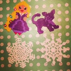 Perler bead crafts by mojo1978