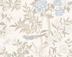 Wallpaper Emily, Beige
