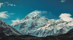 Mt Cook Mount Cook, Mountain Range, Alps, New Zealand, Mount Everest, Places To Go, Mountains, World, Travel
