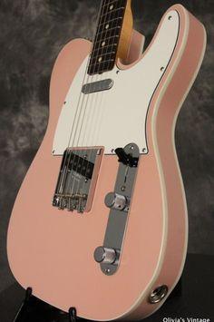 2013 Fender Custom Shop '60 CUSTOM TELECASTER closet classic SHELL PINK!!!