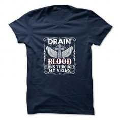 DRAIN T Shirts, Hoodies. Get it here ==► https://www.sunfrog.com/Camping/DRAIN-111023991-Guys.html?57074 $19
