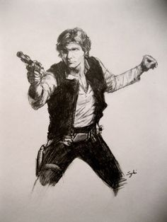 Han Solo, by Sydni Kruger
