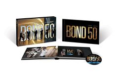 Bond 50: The Complete 22 Film Collection [Blu-ray]: Sean Connery, Daniel Craig, Roger Moore, Timothy Dalton, Pierce Brosnan, George Lazenby #movies #007