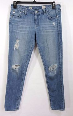AG Adriano Goldschmied Women Super Skinny Ankle Legging Jeans Size 31R #AGAdrianoGoldschmied #LeggingAnkleSuperSkinnyAnkleSlimSkinny