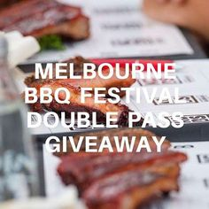 LAST CHANCE !  ENTER FOR YOUR CHANCE TO WIN A DOUBLE PASS ENTRY TICKETS (VALUED AT $70) TO THE YAKS MELBOURNE BBQ FESTIVAL: FEBRUARY 6TH  The Yaks @melbbbq is an action-packed week-long celebration of all things barbecue featuring local and international barbecue experts  The festival will feature:   barbecue food stalls including some of Melbournes finest pitmasters and culinary talent;   barbecue cooking demonstrations by local and international barbecue experts;   equipment exhibitors…