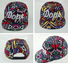 2014 New Popular Geometric Pattern Colorful Fashion Baseball Cap Men & Women Hip Hop Hat US $4.99
