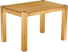Cavadore 80504 Tisch Nick Moderner Esstisch Gefertigt Aus Melamin Sonoma Eiche Resistent Gegen Schmutz 120 X 80 75 Cm L B H